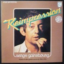 Serge Gainsbourg : Reimpression