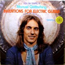 Manuel Göttsching : Inventions for electric guitar