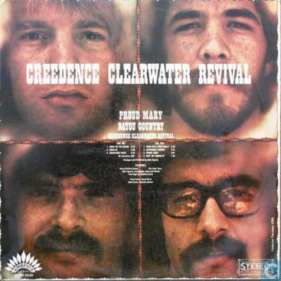 Creedence Clearwater Revival : Proud Mary / Bayou Country : Elephantasmagoria