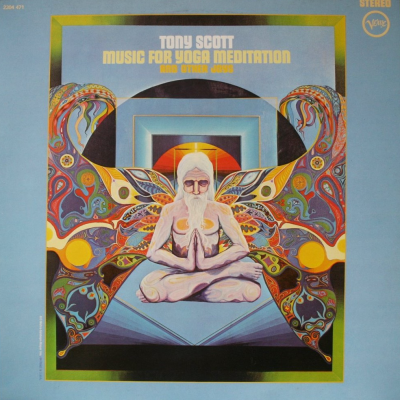 Tony Scott : Music For Yoga Meditation And Other Joys : Elephantasmagoria