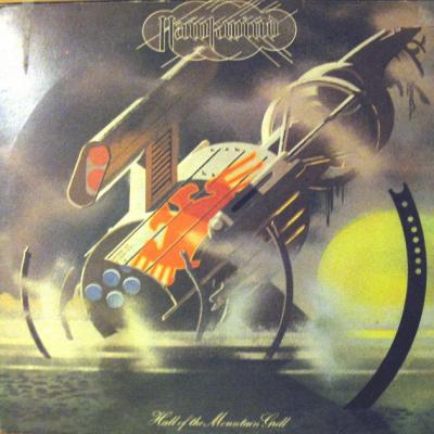Hawkwind : Hall Of The Mountain Grill : Elephantasmagoria