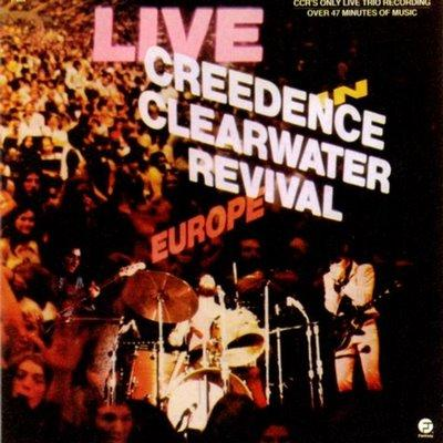 Creedence Clearwater Revival : Live In Europe : Elephantasmagoria